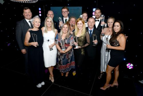 Staff awards winners 2019